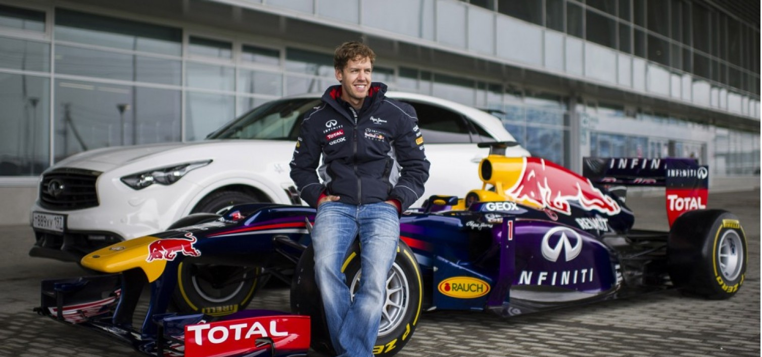 Vettel and Coulthard versus the Sochi Circuit